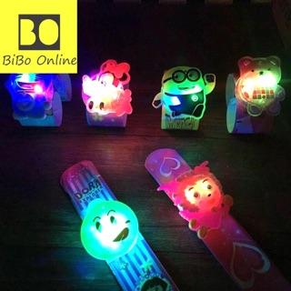 Vòng đeo tay hoạt hình có đèn LED cực cute cho bé (giao mẫu ngẫu nhiên)