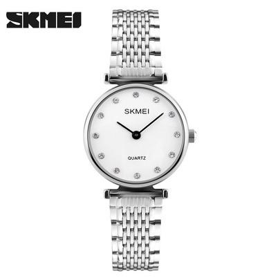 Đồng hồ nữ skmei 1223 màu trắng cực chất