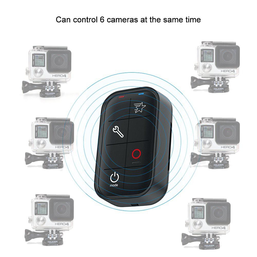 [Mã SKAMPUSHA7 giảm 8% đơn 250k]Remote Telesin cho GoPro 3, GoPro 4, GoPro 5, GoPro 6, GoPro 7, GoPro Session