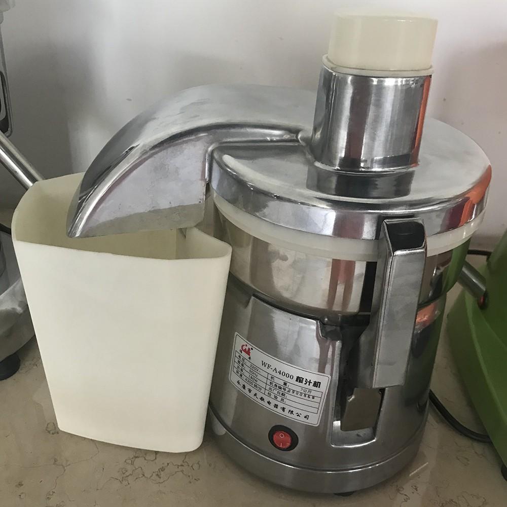 Máy ép trái cây Inox công nghiệp A4000, chính hãng, ép hoa quả 40kg đến  60kg giờ - Máy xay sinh tố Thương hiệu No Brand