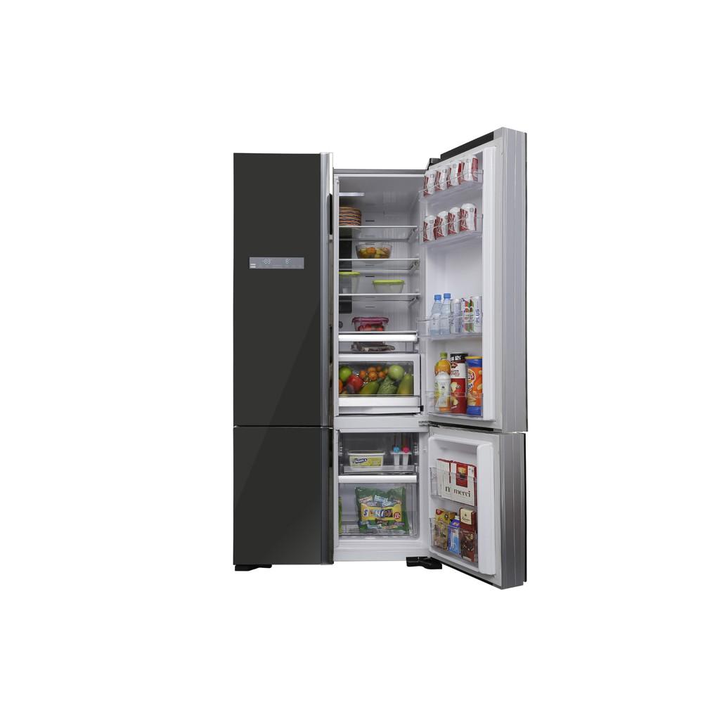 Tủ lạnh Hitachi Inverter 640 lít WB800PGV5 GBK (Chỉ giao HCM)