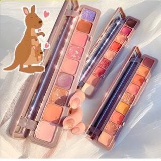 (Bán Buôn) Bảng Phấn Mắt Nhũ 9 Ô Màu Lameila Novo Dikalu Beautiful Color Hàng Nội Địa Trung (Bảng Dài) P30 thumbnail