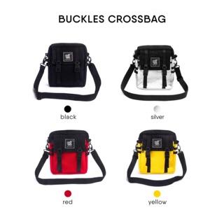 Túi đeo chéo Buckles Crossbag Tote Talk
