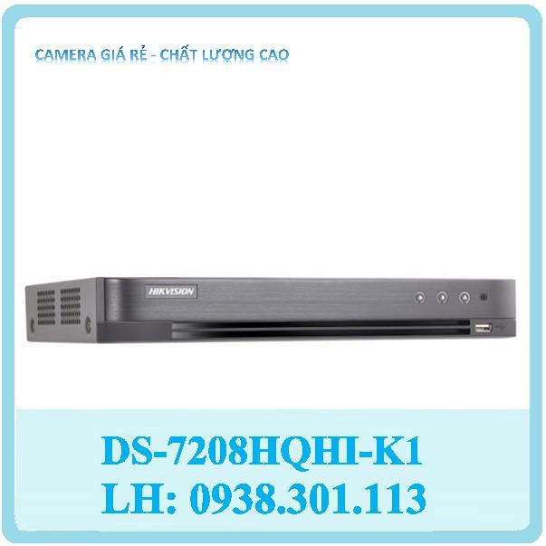 Đầu ghi hình HD-TVI 8 kênh TURBO 4.0 HIKVISION DS-7208HQHI-K1(S)
