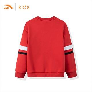 Áo dài tay bé gái Anta Kids nỉ bông ấm áp 36947729-2