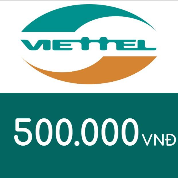 Mã thẻ điện thoại Viettel 500K