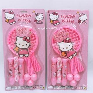 [FS_50k] Bộ đồ chơi Vợt cầu lông mèo KITTY cho bé