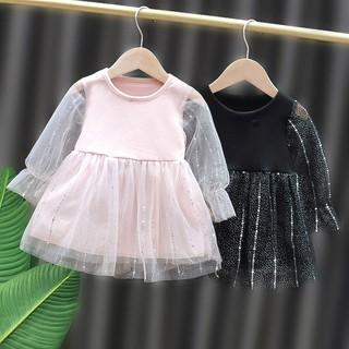 Đầm Công Chúa Tay Dài & Chân Váy Cho Bé Gái 2021
