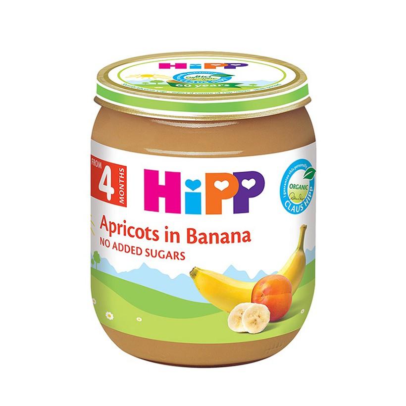 Lọ dinh dưỡng vị chuối Mơ(125g) HiPP 4200
