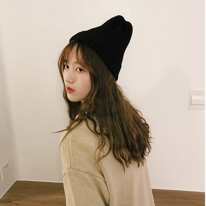 Mũ len nữ hàn quốc vintage trend thu đông 2020 chất len cao cấp