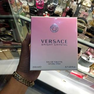 [ẢNH THẬT] Nước Hoa Nữ Versace Bright Crystal 200ml . Chính Hãng
