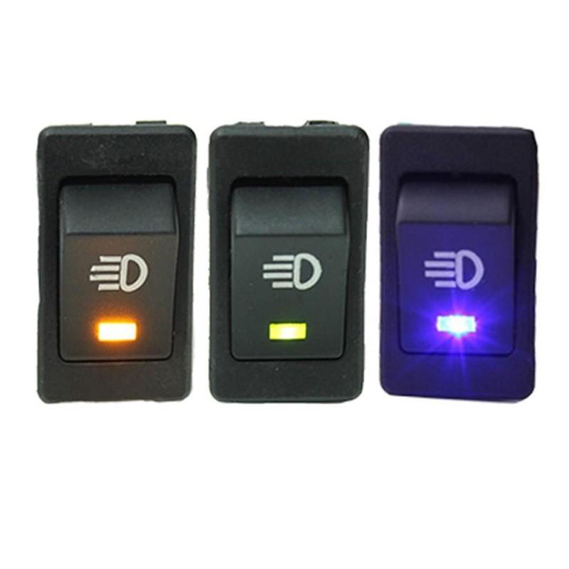 Công tắc đèn sương mù 12V 35A cao cấp cho xe ô tô / tàu t