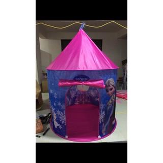 Lều lâu đài công chúa frozen mẫu mới
