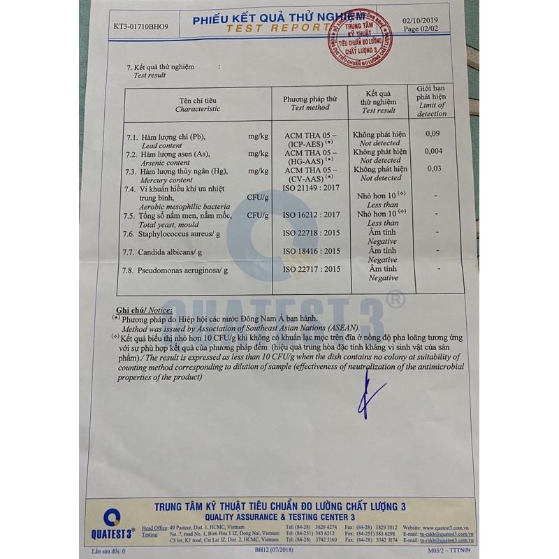 Xà bông bồ hòn dược liệu handmade có giấy kiểm nghiệm độ an toàn, hạn sử dụng 18 tháng kể từ ngày nhận hàng