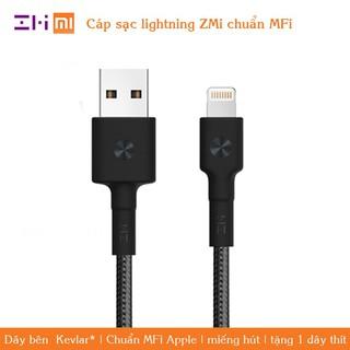 [CHÍNH HÃNG] Dây sạc Lightning siêu bền bọc Kevlar Xiaomi Zmi – Cáp sạc Lightning siêu bền bọc Kevlar ZMI AL803