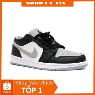 Giày Thể thao 𝗝𝗼𝗿𝗱𝗮𝗻 𝟭 low xám khói cao cấp (tặng box)- giày 𝗝𝗼𝗿𝗱𝗮𝗻 𝟭 xám thấp cổ