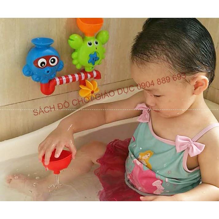 Đồ chơi dính tường nhà tắm - nhựa cao cấp an toàn