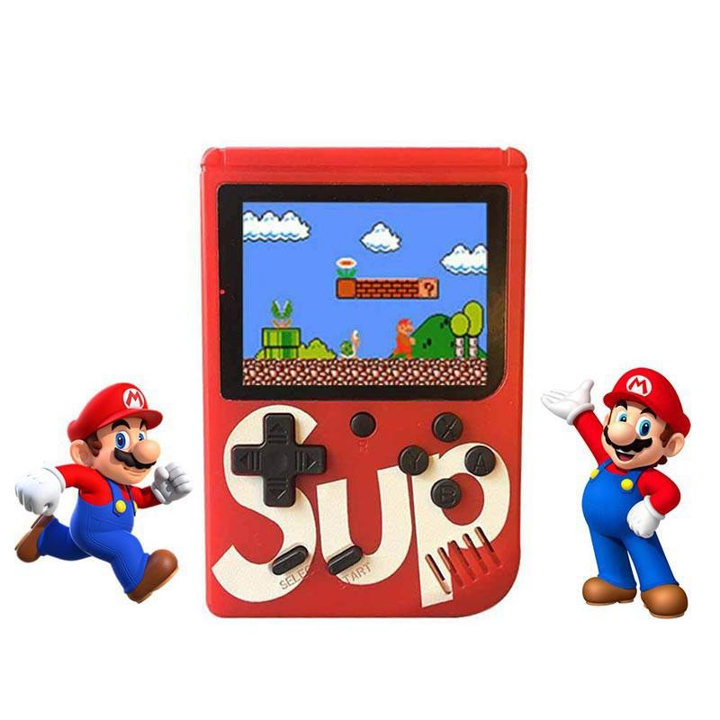 Hộp trò chơi SUP 400 trong 1 Máy điều khiển trò chơi cầm tay mini TV Out Retro Cổ điển Trò chơi điện tử Di động