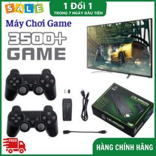 Máy Chơi Game FREE SHIP Máy Chơi Game Cầm Tay 4 Nút HDMI 3500T Trò Chơi Cổ Điển PS1 Nitendo switch FC Compact FC thumbnail