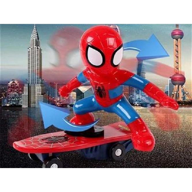 Đồ chơi người nhện trượt ván cho bé xoay 360 độ - 3283730 , 1209884217 , 322_1209884217 , 65000 , Do-choi-nguoi-nhen-truot-van-cho-be-xoay-360-do-322_1209884217 , shopee.vn , Đồ chơi người nhện trượt ván cho bé xoay 360 độ