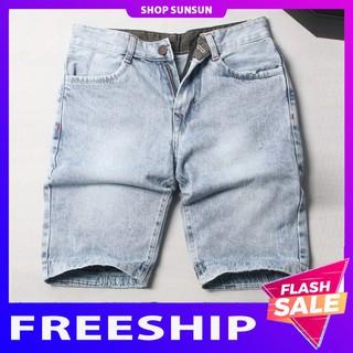 Quần short jean nam [FREESHIP] shop Sunsun chuyên quần ngố nam