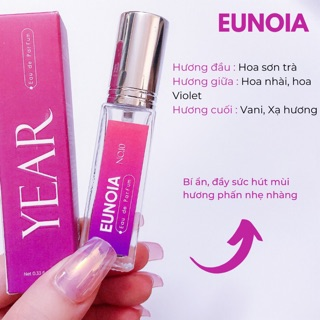 [HƯƠNG PHẤN] Nước hoa tinh dầu Year Eunoia 10ml thumbnail