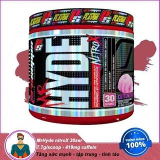 [XẢ KHO] Tăng Sức Mạnh Pre workout Mr Hyde NitroX hỗ trợ tăng sức mạnh (30 lần dùng) thumbnail