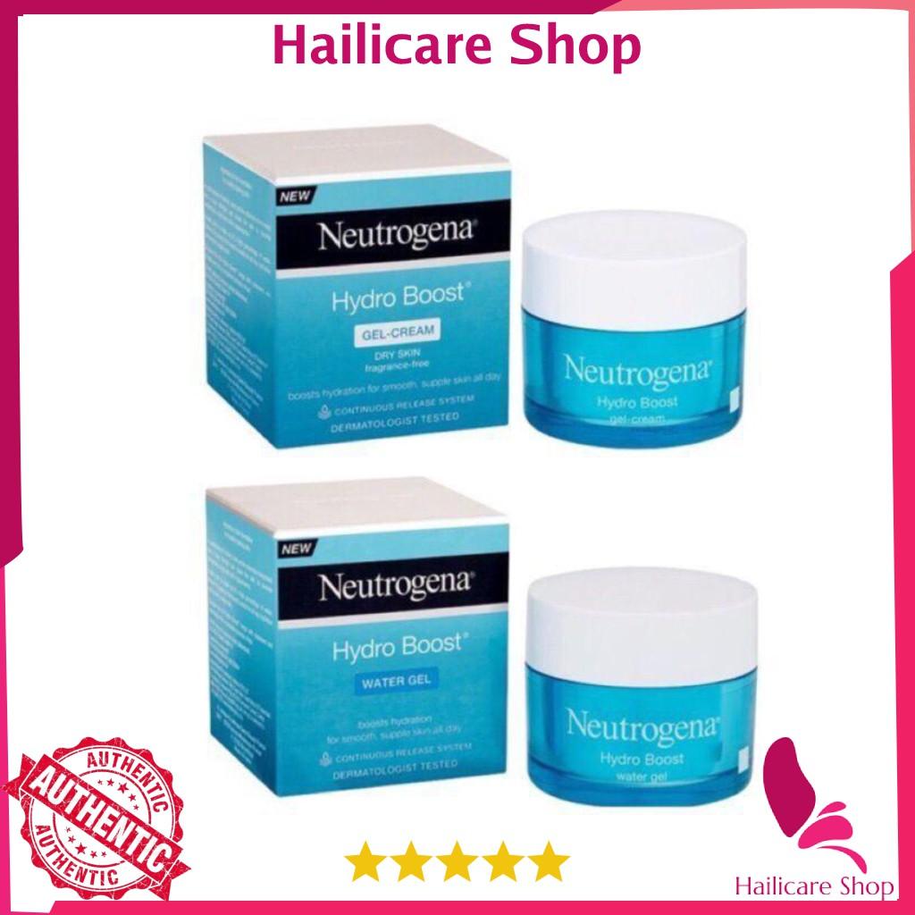 Kem dưỡng Neutrogena Water Gel (da dầu)/ Gel Cream (da khô) 50ml