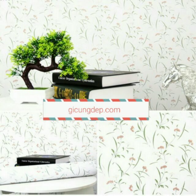 Giấy dán tường hoa lá nhỏ - 3004451 , 217123445 , 322_217123445 , 16000 , Giay-dan-tuong-hoa-la-nho-322_217123445 , shopee.vn , Giấy dán tường hoa lá nhỏ