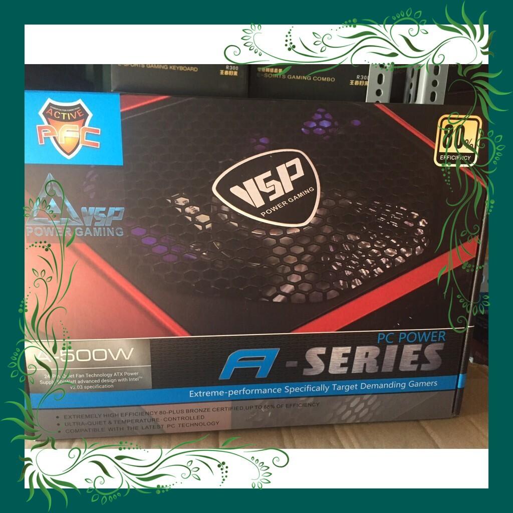 [Siêu Sốc] NGUỒN máy tính để bàn VSP A500W FULL BOX