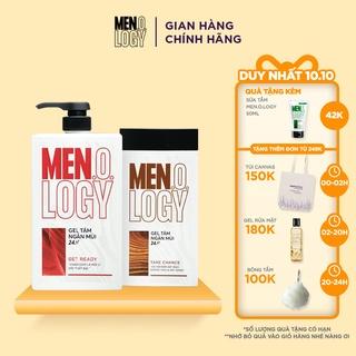 Combo MEN.O.LOGY Gel Tắm Ngăn Mùi 24h Get Ready 630ml + Gel Tắm Ngăn Mùi 24h Take Chance 350ml thumbnail