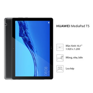 Máy tính bảng Huawei MediaPad T5 10 inch 4G Nghe gọi như điện thoại. Bảo hành 12 tháng. Di Động Sinh Viên