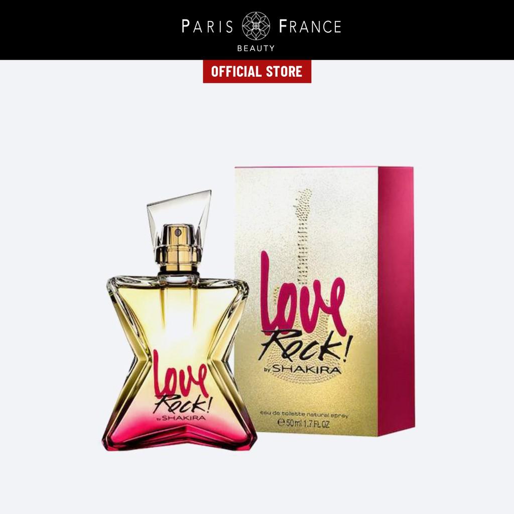 Paris France Beauty - Nước Hoa Nữ Shakira Love Rock EDT