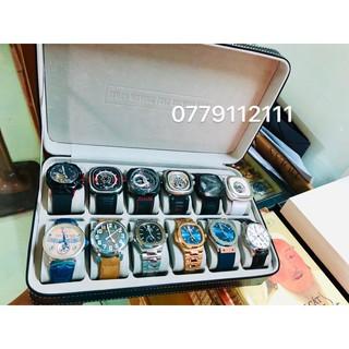 hộp đựng 12 chiếc đồng hồ nắp kín