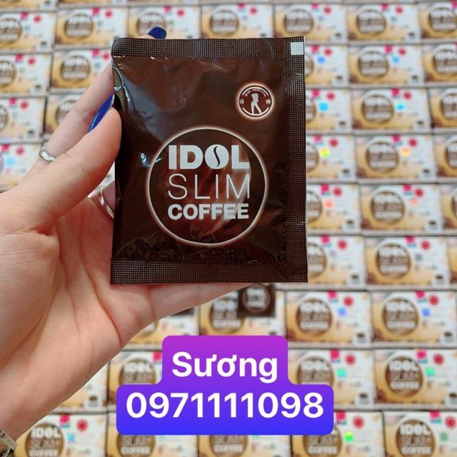 Lẻ 1 gói cafe idol slim coffee chuẩn mạnh