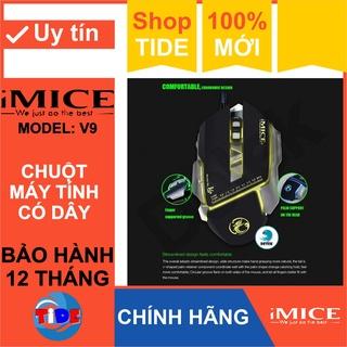 Chuột Gaming Imice V9 Chính hãng Led đổi màu Độ nhạy 3200 DPI Bảo hành 12 tháng thumbnail