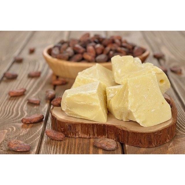 Bơ cacao thô - nguyên liệu làm son mary store