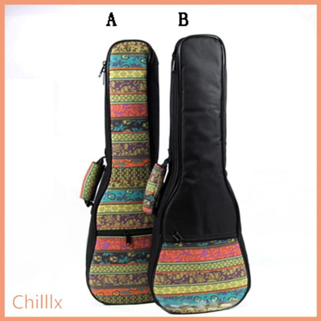 21 23 26 Inch Bohemia Style Portable Cotton Padded Bass Guitar Gig Bag Ukulele Case Box