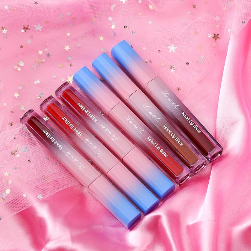(Rẻ Vô Địch) Son Kem Tint Lì Lameila Velvet Lips Glaze – Làm Mịn Môi Chính Hãng ( Bán Buôn Bán Sỉ Son4)