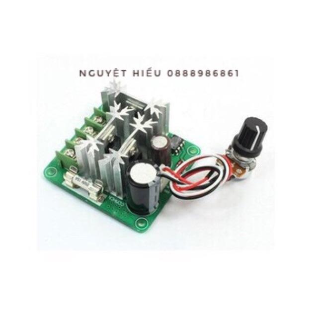 Mạch điều chỉnh tốc độ quay mô tơ 6V-90V 15A