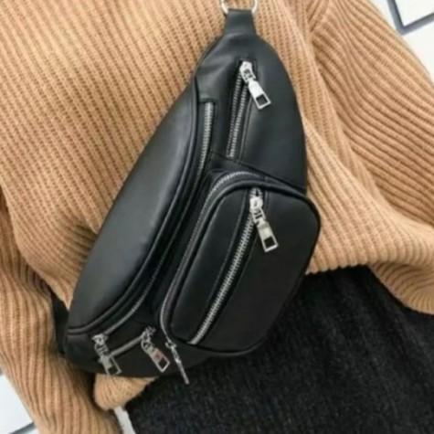 Túi đeo chéo DA PU cao cấp style Lắc Xích