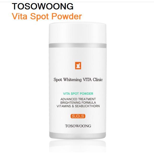 Bột Vitamin C Làm Trắng Mờ Thâm Tosowoong 6gr
