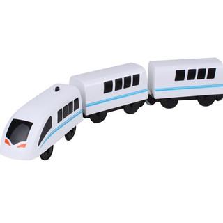 Tàu điện dành cho đường ray gỗ, xe lửa chạy pin