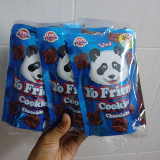 ??? Lốc 12 Gói Bánh Chocolate Yo Friend Thái???