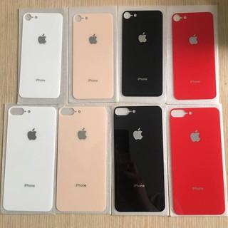 [Rẻ Vô Địch] Cường Lực mặt lưng giả iphone 8 + ốp silicon trong cao cấp ( giống 99%) cho iPhone 6/6plus/7/7plus/8/8plus