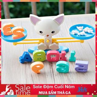 Bộ đồ chơi bàn cân toán học Puppy up GDCHOI07