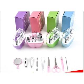 Bộ cắt móng tay 9 món cho bé có hộp đựng-tungan262019