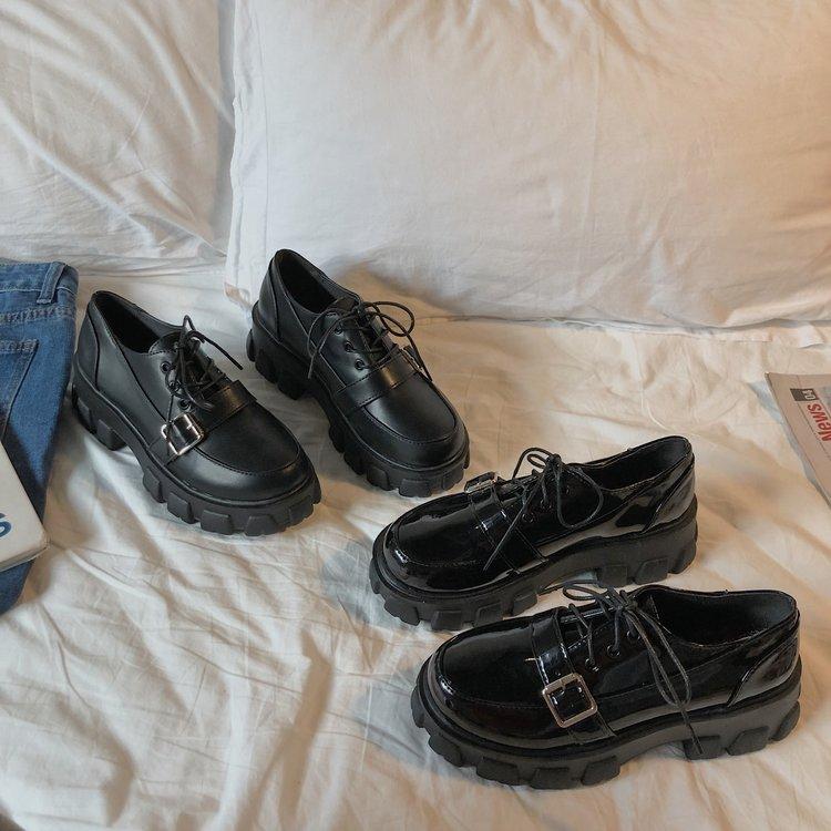 Giày Oxford Nữ Đế Dày Thời Trang Cá Tính