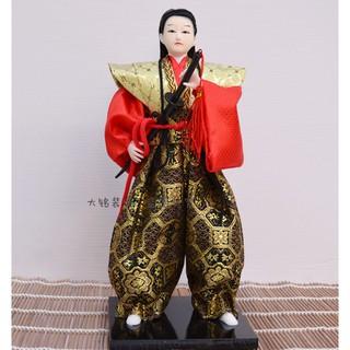 Búp bê Samurai Nhật Bản chế tác thủ công bằng lụa tinh tế