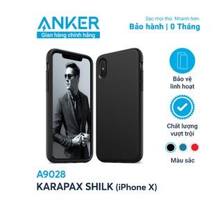 Ốp lưng ANKER Karapax Silk cho iPhone X - A9028 thumbnail